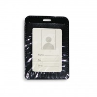ID Card Holder (PULeather) Blk - Model 1