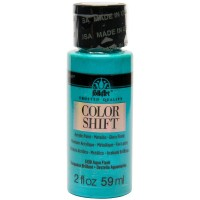 Folkart COLOR SHIFT Acrylic Paints AQUA FLASH