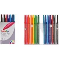 Pentel S360 Color Pens Fibre Tip Set of 18Colors
