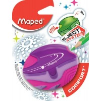 Maped Sharpnr 1Hole Galactic Comfort Blister Pack