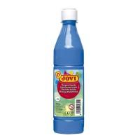 Basic Liquid Poster Paint Bottle Jovi 500ml Cyan