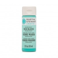 Martha Stewart Sea Glass Paint 20z. Beach Glass