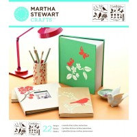 MARTHA STEWART MEDIUM STENCIL BIRDS/BERRIES
