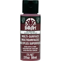 FOLKART MULTI-SURFACE Paint - BERRY WINE