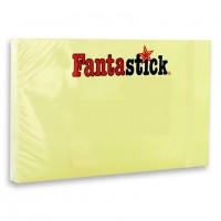 "Fantastick Sticky Notes 1.5x2""  Yellow"