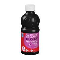 Lefranc & Bourgeois Glossy Acrylic Paint Black