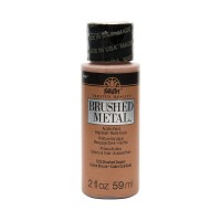 Folkart MATTE FINISH BRUSHED METAL Acrylic Paints BRUSHED COPPER