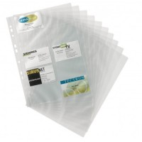 Business Card Holder Refill A4 Size Durable