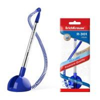 ErichKrause® Ballpoint pen R-301 Desk Pen 1.0, ink color: blue