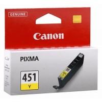 Cannon Ink Cartridge CLI 451 Yellow