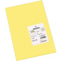 Canson Iris Vivaldi A4 185 GSM Smooth Colour Paper - Straw Yellow