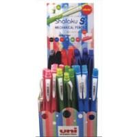 Uni Shalaku-S Mech Pencil 0.5 Display of 48 pcs