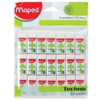 Maped Eraser Technic 300Mini 21 Pcs PB
