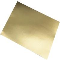 SADIPAL Aluminium Card Board Colour Sheet-225 GMS-Gold Gloss 10SH/PK,