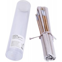 ArtMax Oil/Acrylic Brush Set with Cotton Wrap