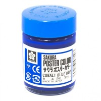 SAKURA POSTER COLOURS COBALT BLUE