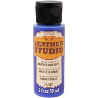 LEATHER STUDIO PAINT COBALT BLUE 2 OZ.