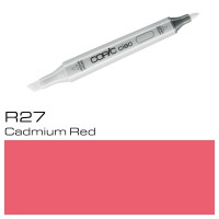 R 27 CADMIUM RED COPIC CIAO MARKER