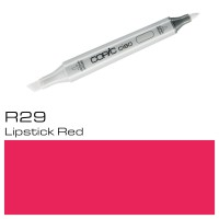 R 29 LIPSTICK RED COPIC CIAO MARKER