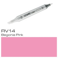 RV14 BEGONIA PINK  COPIC CIAO MARKER