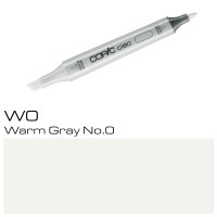 W-0 WARM GRAY NO.0  COPIC CIAO MARKER