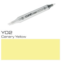 Y02 CANARY YELLOW  COPIC CIAO MARKER