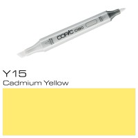 Y 15 CADMIUM YELLOW COPIC CIAO MARKER