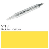 Y 17 GOLDEN YELLOW COPIC CIAO MARKER