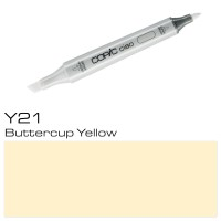 Y 21 BUTTERCUP YELLOW COPIC CIAO MARKER