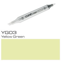 YG 03 YELLOW GREEN COPIC CIAO MARKER