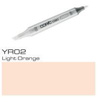 YR 02 LIGHT ORANGE COPIC CIAO MARKER