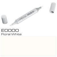 E0000 FLORAL WHITE SKETCH MARKER