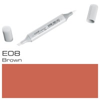 E08 BROWN SKETCH MARKER