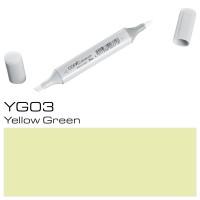 YG03 YELLOW GREEN SKETCH MARKER