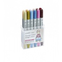 Copic Ciao 12pc Vintage Color Set