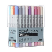 COPIC ciao Set of 36pc Set C colors