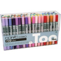 Copic Ciao Set of 72pc - Set A colors