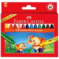 Crayons Fabercastell Jumbo Wax Rond 90mm 12pcs