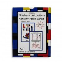 Numbers & Letters Activity Flash Cards