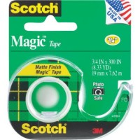 Scotch Magic Tape with Dispensr(S)Cat#105