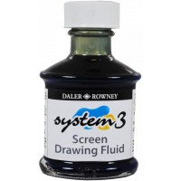 Daler-Rowney System 3 Screen Drawing Fluid 75ml Bottle