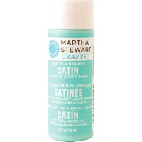 MARTHA STEWART MULTI SURFACE PAINT SATIN 2 OZ. DEEP SEA