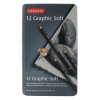 Derwent Sketch Soft Pencil 12 Tin