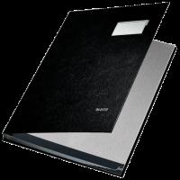 LEITZ Signature Book 20 compartment Black