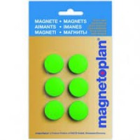 MAGNETOPLAN MAGNETIC – DISCOFIX HOBBY (ON BLISTER) Size 8mm, 25mm Dia GREEN
