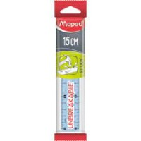 Maped Ruler Study Unbreakable 15cm