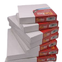 Funbo Stretched 3D canvas 380 gms 20X20 cm
