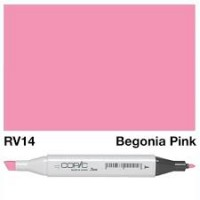 RV 14 BEGONIA PINK COPIC MARKER