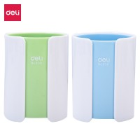 Deli PS Dual Color Pen Holder 82x106mm