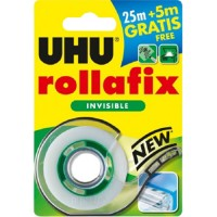 UHU Rollafix Invisible Disp. Blister